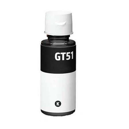 Premium Quality Black Pigment Ink compatible with HP GT51Bk