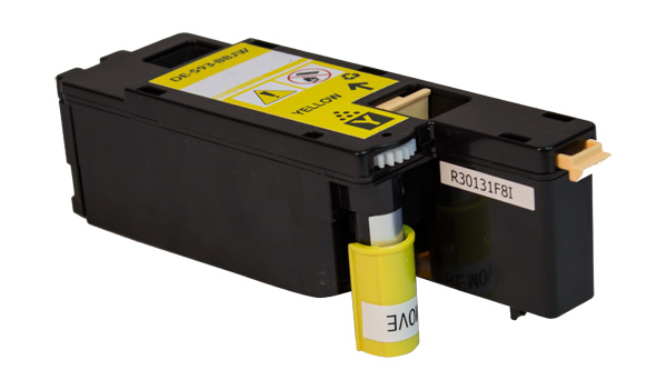 Premium Quality High Capacity Yellow Toner Cartridge compatible with the Dell 593-BBJW