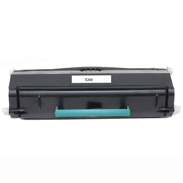 Premium Quality Black Toner Cartridge compatible with Lexmark E260A11A