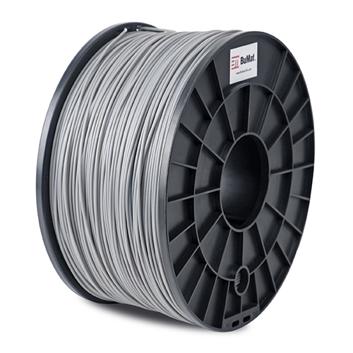 Premium Quality Gray ABS 3D Filament compatible with Universal ABSGY3