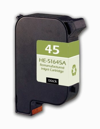 Premium Quality Black Inkjet Cartridge compatible with the HP (HP 45) 51645A