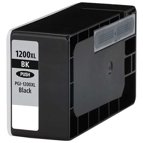 Premium Quality High Capacity Black Inkjets compatible with the Canon (PGI-1200xl Bk) 9183B001