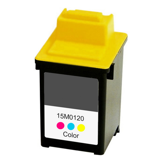Premium Quality Tri-Color Inkjet Cartridge compatible with Lexmark 15M0120 (Lexmark #20)