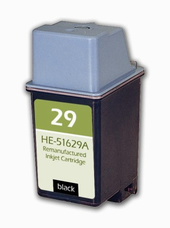 Premium Quality Black Inkjet Cartridge compatible with HP 51629A (HP 29)