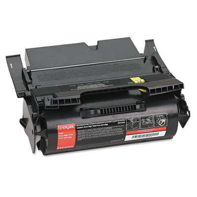 Premium Quality Black Toner Cartridge compatible with Lexmark 64435XA
