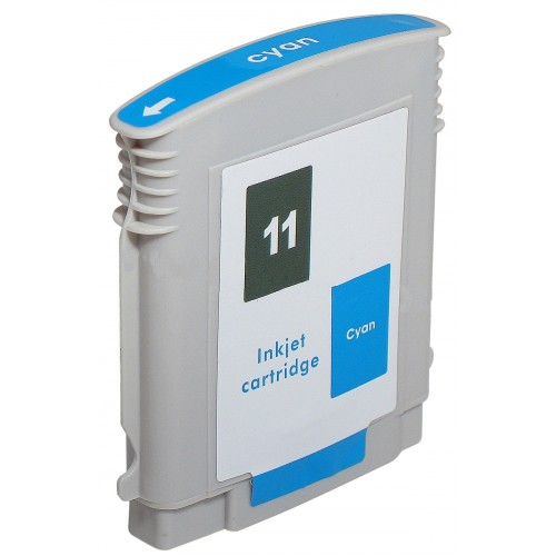 Premium Quality Cyan Ink Cartridge compatible with HP C4836A (HP 11)