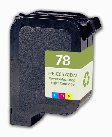 Premium Quality Color Inkjet Cartridge compatible with HP C6578DN (HP 78)