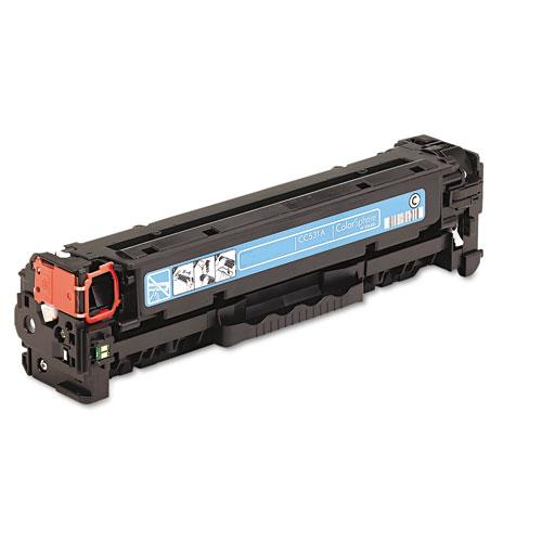 Premium Quality Cyan Toner Cartridge compatible with the HP (HP 304A, Canon 118) CC531A, 2661B001AA