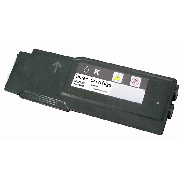 Premium Quality Extra High Capacity Black   Toner Cartridge compatible with the Dell (W8D60, 4CHT7) 331-8429