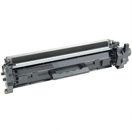 Premium Quality Black Toner Cartridge compatible with HP CF217A (HP 17A),  with new chip.