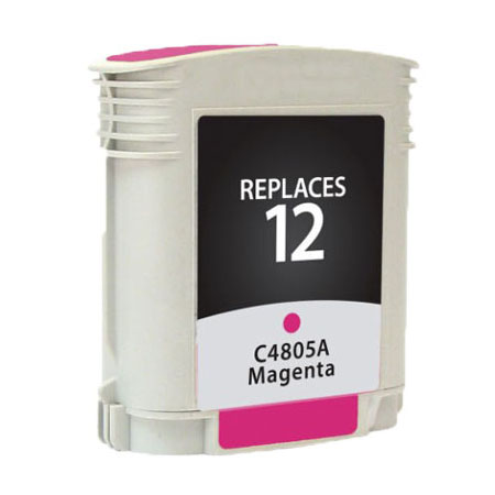 Premium Quality Magenta Inkjet Cartridge compatible with the HP (HP 12) C4805A