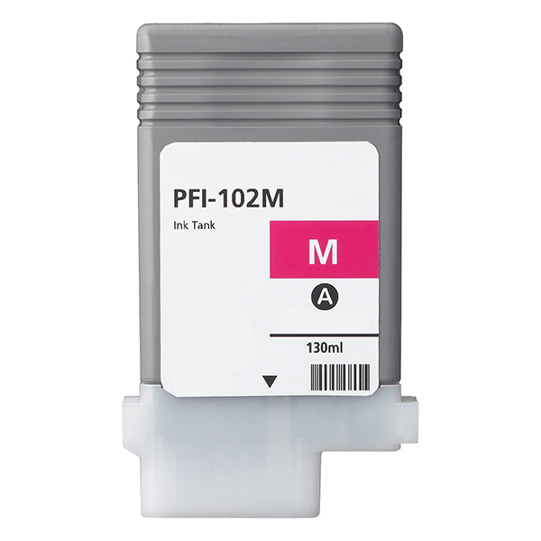 Premium Quality Magenta Inkjet Cartridge compatible with Canon 0897B001 (PFI-102M)