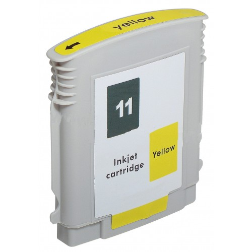 Premium Quality Yellow Ink Cartridge compatible with HP C4838A (HP 11)