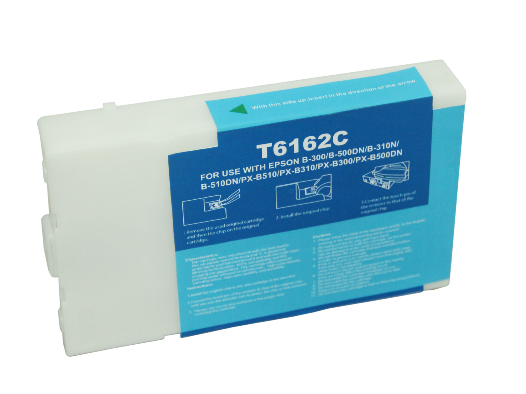 Premium Quality  Cyan   Inkjet Cartridge compatible with the Epson  T616200