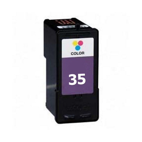 Premium Quality Tri-Color Inkjet Cartridge compatible with Lexmark 18C0035 (Lexmark #35)