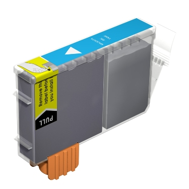 Premium Quality Cyan Inkjet Cartridge compatible with the Canon (BCI-6C) 4706A003