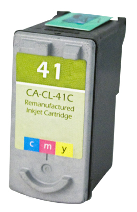 Premium Quality Tri-Color Inkjet Cartridge compatible with the Canon (CL-41) 0617B002
