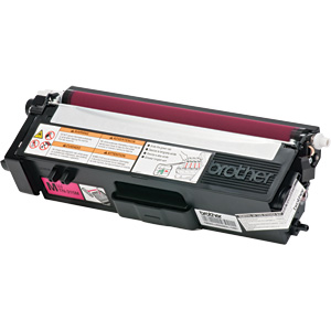 Premium Quality High Yield Magenta Toner compatible with the Brother TN315M