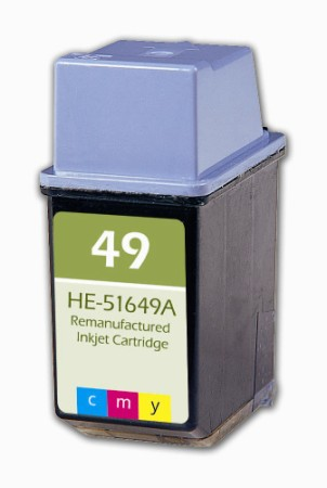 Premium Quality Tri-Color Inkjet Cartridge compatible with HP 51649A (HP 49)