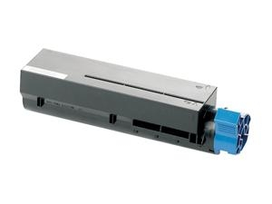 Premium Quality Black Toner Cartridge compatible with the Okidata 44917601