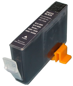 Premium Quality  Black   Inkjet Cartridge compatible with the Canon (BCI-3eBk) 4479A003AA