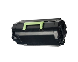 Premium Quality Black Toner Cartridge compatible with the Lexmark (521H) 52D1H00 Comp.