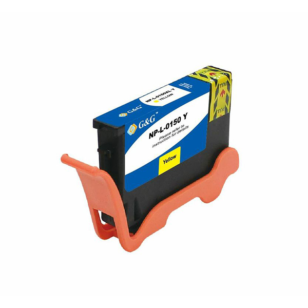Premium Quality Yellow Inkjet Cartridge compatible with Lexmark 14N1617 (Lexmark #150XL)