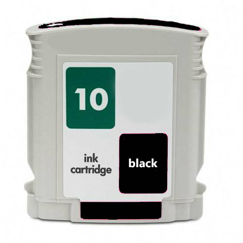 Premium Quality Black Inkjet Cartridge compatible with the HP (HP 10) C4844A