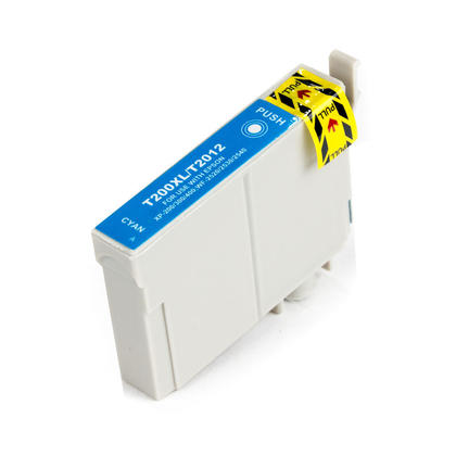 Premium Quality Cyan Inkjet Cartridge compatible with the Epson (Epson 200XL) T200XL220